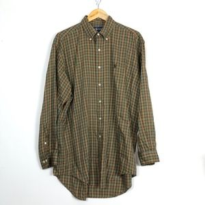 Ralph Lauren YARMOUTH Plaid Button Down Shirt